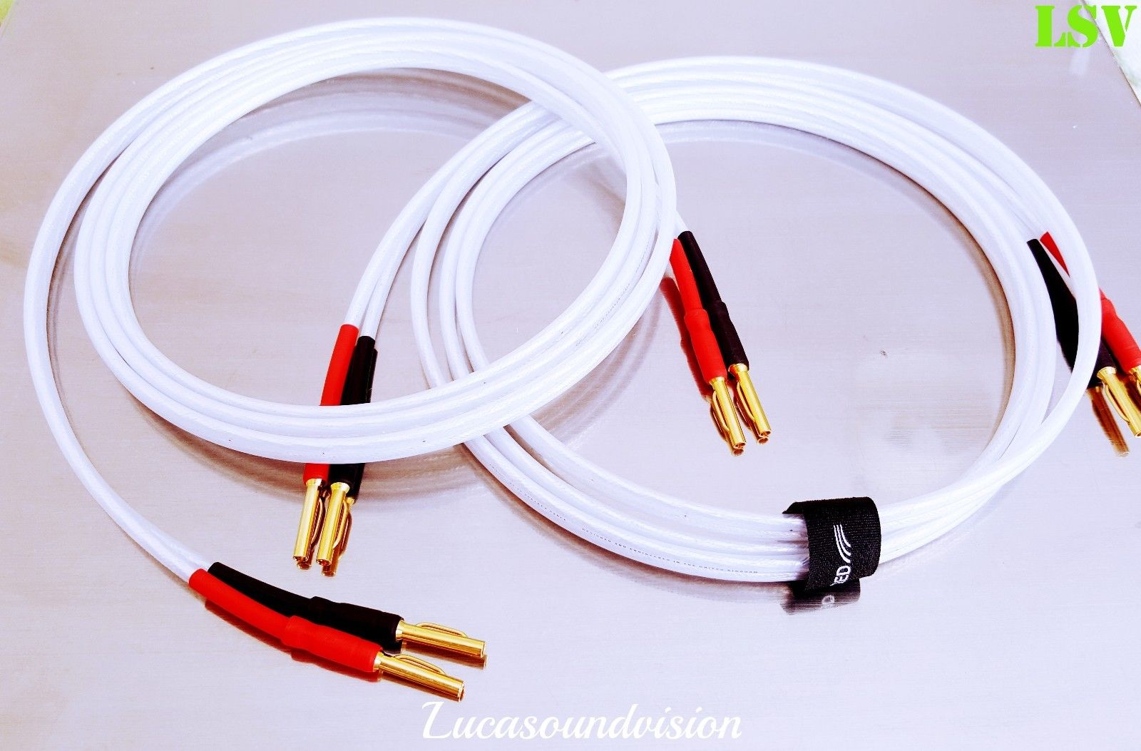 New Qed Xt25 Audio Speaker Cables 2 X 2 5m A Pair
